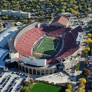 Aerial photo of Camp Randall