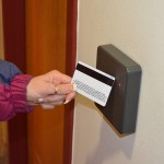 A master key card and reader