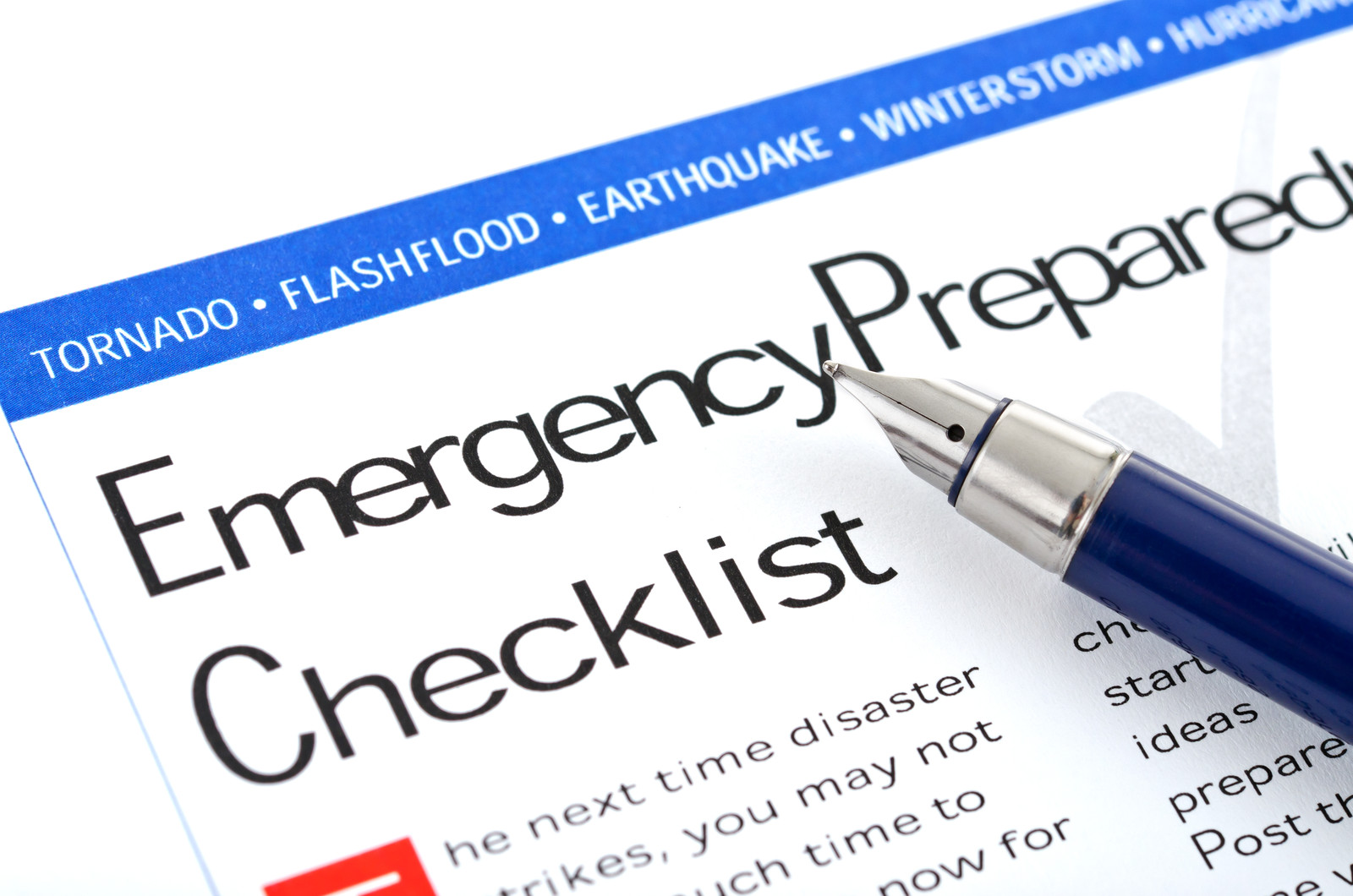 preparedness starts with you