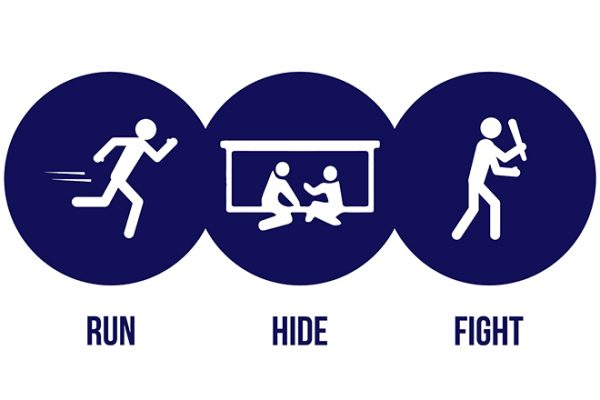 Active Shooter Logo Feature