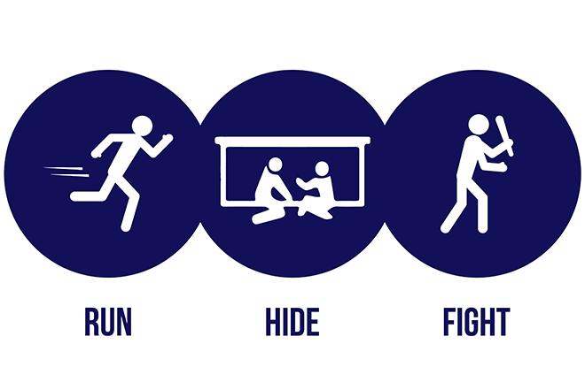 Active Shooter Response Guide | UWPD | UW-Madison