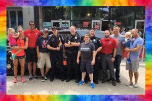 Members of the UWPD Pride Team