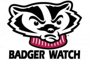 Badger Watch logo, featuring Bucky.